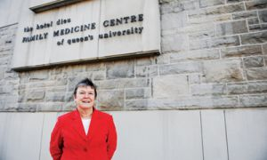 Dr. Ruth Wilson says she is honoured to receive the 5-star Doctor award.