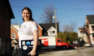 Jennifer Croome, ArtSci '13, has been participating in National Novel Writing Month for four years, and is this year's Municipal Liaison for the Kingston region.