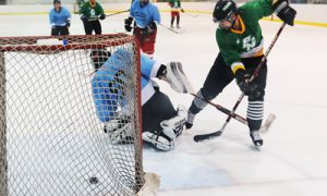 The League of Unextraordinary Gentlemen offers organized hockey to Queen's students and Kingston residents.