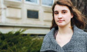 Maddy Parrott, Sci' 13 is organizing the massacre's memorial on Dec. 6.