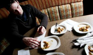 Philip Asselstine, Megalos' head chef, blind taste-tests three local poutine options, choosing Smoke's Poutinerie as the best.