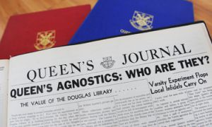Following a decision by then-Principal R.C Wallace to bar the Queen's Atheist and Agnostic club from campus, an onslaught of coverage and strongly worded letters appeared in the Journal throughout Jan. 1950.