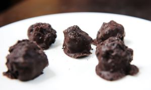 Student-Friendly Easy Oreo Truffles (above), are one of many recipes to make for a get together or as a Valentine's Day gift.