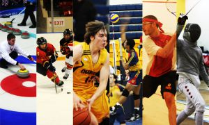 Queen's athletics enjoyed a successful winter season, finishing off with two OUA banners from men's fencing and women's hockey. The Gaels also had strong showings from men's squash, and men's and women's volleyball.