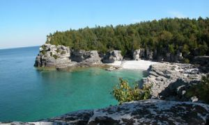 Ontario parks, such as Bruce Peninsula National Park (picture above), offer attractions such as walking and cycle trails.