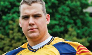 Matt O'Donnell was selected fifteenth overall by the Saskatchewan Roughriders in the CFL draft earlier this month.