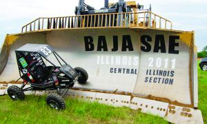 With a fifth place finish in an Illinois competition, the Queen's baja racing team saw their best result since 2008.