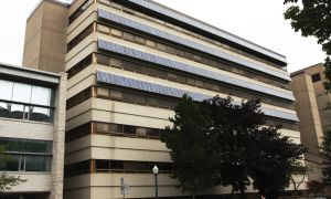 The Goodwin Hall solar panels, installed in 2002, have been a learning tool for applied science students. The new installations will be on the rooftops of four campus buildings and at QUBS.