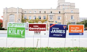 This is the first year that Queen's University has had on-campus advanced polling offered to students and the surrounding Kingston community.