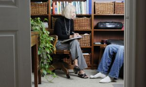 Hypnotist Penny Robinson holds hypnotherapy sessions in her Kingston office for less than $100.