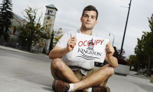 Connor Edington, ArtSci '12, says he hopes the Occupy Kingston movement that begins tomorrow will educate people about global injustices and bring about tangible changes.