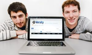 Creator of Eversity, Noah Opolsky (right), ArtSci '13 and business partner Niv Yahel (left) , CompSci '13, say the site allows users to comment on forums.