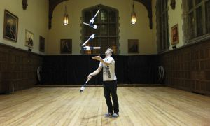 Alex Perren is president of Queen's/Kingston Juggler's Club.