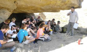Students at Colorado College travelled to Utah during their geology block last year.