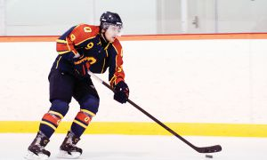 Forward Jordan Mirwaldt has recorded seven points in five games since he returned from injury on Jan. 3. He scored twice against the Royal Military College Paladins on Wednesday night.