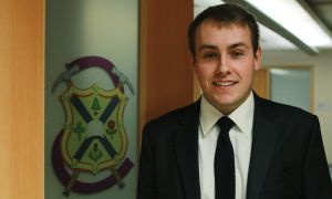 Taylor Wheeler, Sci '13, is the first EngSoc presidential candidate to run unopposed in over 10 years.