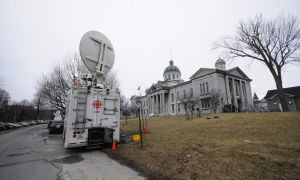 Kingston's Frontenac County courthouse, adjacent to Queen's campus, has housed the Shafia trial since proceedings began on Oct. 20.