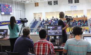 Queen's TV, Sports Streaming Network and Queen's Athletics finalized an arrangement for the CIS men's volleyball championships during a conference call on Feb. 13.