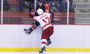 McGill beat Queen's 3-2 in game one of a best-of-three first-round playoff series on Wednesday night.