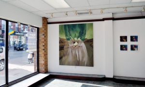Lianne Suggitt, BFA '12, had her oil painting Lingering exhibited at Union Gallery in November last year.