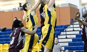 The Gaels led 23-18 after one quarter but still lost by 32 points to the Ottawa Gee-Gees on Friday.
