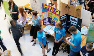 Students can include involvement in campus clubs and community organizations on their co-curricular records.