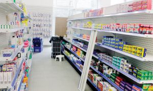 Drug Smart pharmacy was originally slated to open on March 1, but a delay in stock delivery postponed it until today.