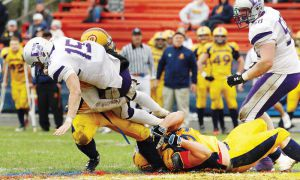 The Queen's football team had to go through last fall's OUA playoffs with injuries to key players like quarterback BIlly McPhee and linebacker Sam Sabourin.