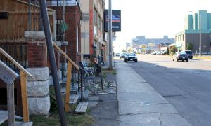 The strip West of Princess and Division Streets is currently home to mostly defunct commercial space. The City approved plans for the revitalization of the area in February.
