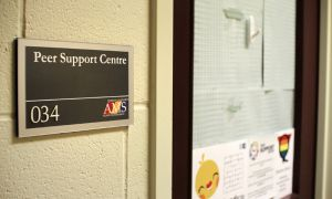 The Peer Support Centre, located in the JDUC has recently seen a large increase in visits.
