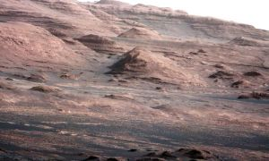 The Mars rover Curiosity landed in August. It will analyze rock and soil samples on the surface of the red planet. Its eventual destination is Mount Sharp (above).