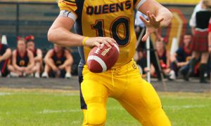 Quarterback Billy McPhee completed 67 per cent of his passes in Queen's first two games.
