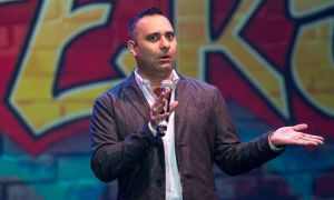 Russell Peters performed at the K-Rock Centre on Saturday night.