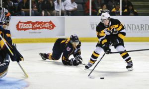 The Kingston Frontenacs won their season opener 3-1 on Friday night against the Barrie Colts.