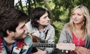 Lead singer Ashleigh Ball says Hey Ocean!'s music is inspired by nature and the scenic surroundings of their hometown, Vancouver.