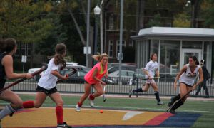 The women's field hockey team has been reinstated, after serving a two-game suspension last weekend.