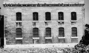 Images of the jail that was torn down in 1973 point to the historical roots of the Frontenac County Court House