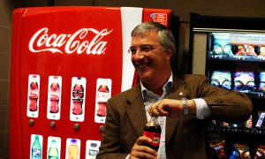 Coke Canada President Nicola Kettlitz said the company is working to be water neutral by 2020.