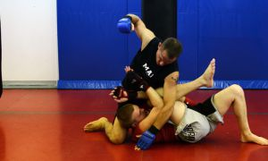 Martial Arts Planet's Gladiator Fight Team class has students fight in three-minute-long sparring matches which feature a multitude of kicks, submission holds and punches.
