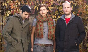 Rural Alberta Advantage keyboardist Amy Cole says if bands don't fight over music, they don't care enough.
