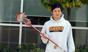 Shingo Tanaka credits the North American style of play employed by his Japanese team for his transition to Canadian lacrosse.