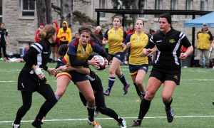 Both Queen's and Guelph advanced to the CIS championship.