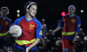 Queen's Quidditch team placed fourth out of 13 university and collegiate teams last Sunday.