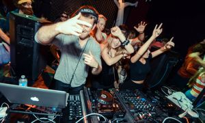 Boris Boitsov, or DJ Red Star, said it takes about four to five hours to compile a playlist.