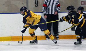The Gaels blanked Waterloo 4-0 last Friday, marking their second shutout of the Warriors this season.