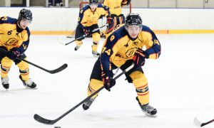 Queen's men's hockey captain Corey Bureau (14) played for the OHL's Mississauga St. Michael's Majors from 2007-11.