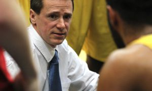 Head coach Stephan Barrie has led the men's basketball team to an 8-3 start in 2012-13 — a significant improvement from last season, his first as the Gaels' bench boss.