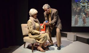 Gordon Muir and Penny Nash brought incredible sincerity to the love story of Ralph and Carol in Domino Theatre's production of The Last Romance.