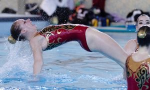 Queen's synchro captain Alex Cross says her team is best at artistic elements.