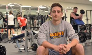 "The ""Strength and Conditioning Mini Stream"" program pairs PheKin students like Nick Boon (above) with Gaels varsity teams."